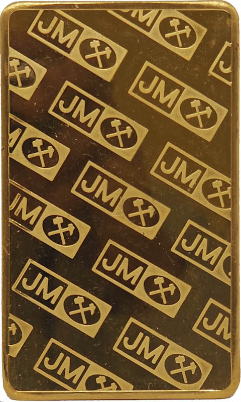 JM Gold Bar