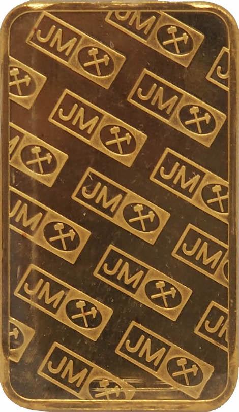 JM Gold Bar