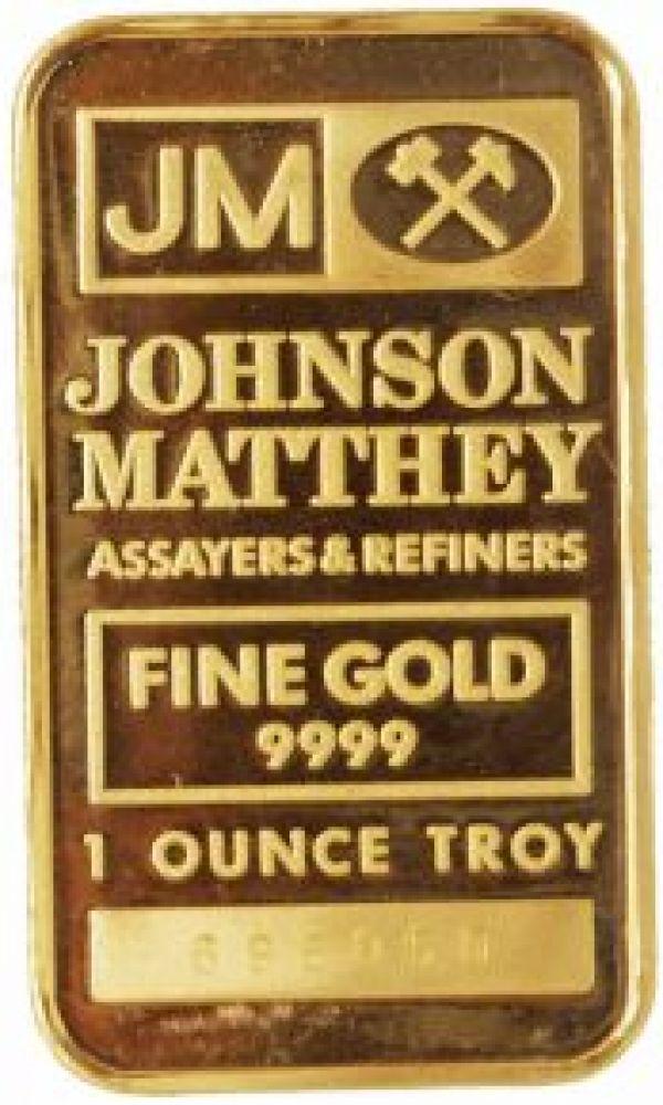 1 Ounce Gold Bar Johnson Matthey Buy Gold Bar In Canada