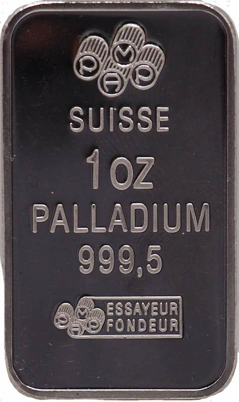 Palladium Silver Bar