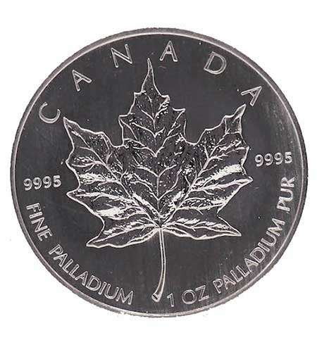 Maple Leaf Palladium Coin