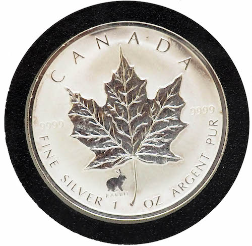 Canada Maple Leaf Silver Coin