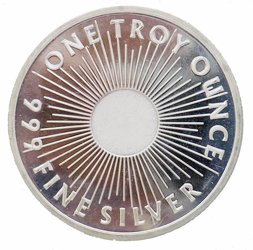 Sunshine Ounce Silver Coin