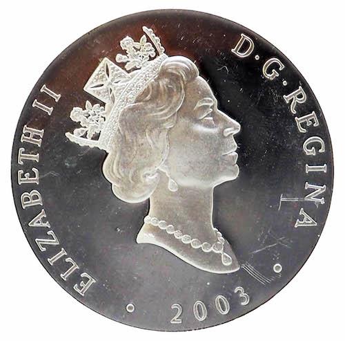 Elizabeth Ounce Silver Coin Australia