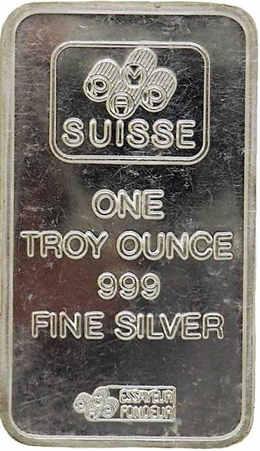 Suisse Silver Bar