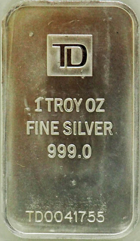 Troy OZ Silver Bar
