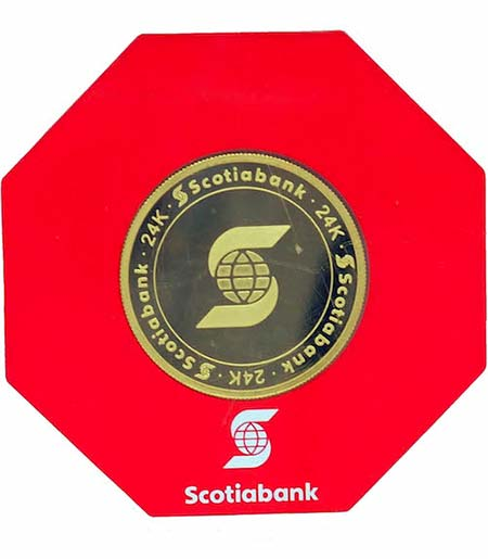 Scotiabank Gold Bar